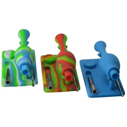Mini Silicone Nectar Collector Set