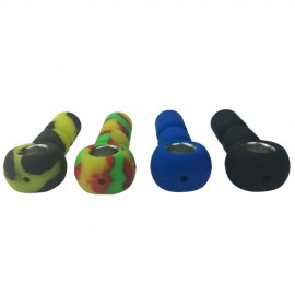 Silicone Pipe - Unbreakable Bowl