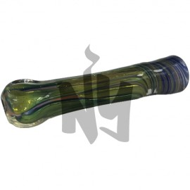 Ed Connec Artistry Glass Chillum Pipe