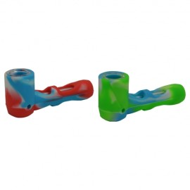Glass Silicone Sherlock Pipe