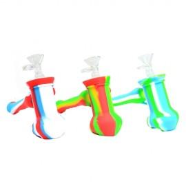 Hammer Bubbler Silicone Pipe