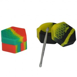Silicone Wax Container with Dab Tool
