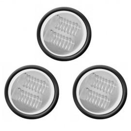dual quartz coils - 3 pack