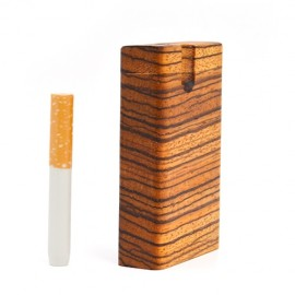 Zebrawood Dugout Pipes - Handmade in USA