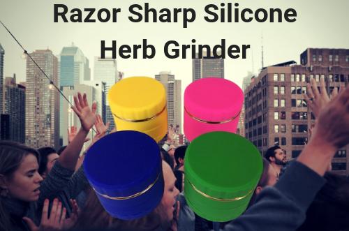 razor-sharp-silicone-herb-grinder