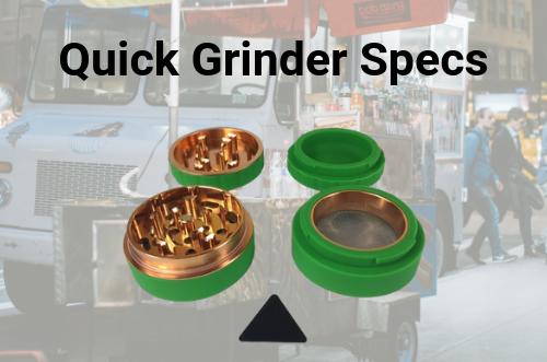 quick-grinder-specs