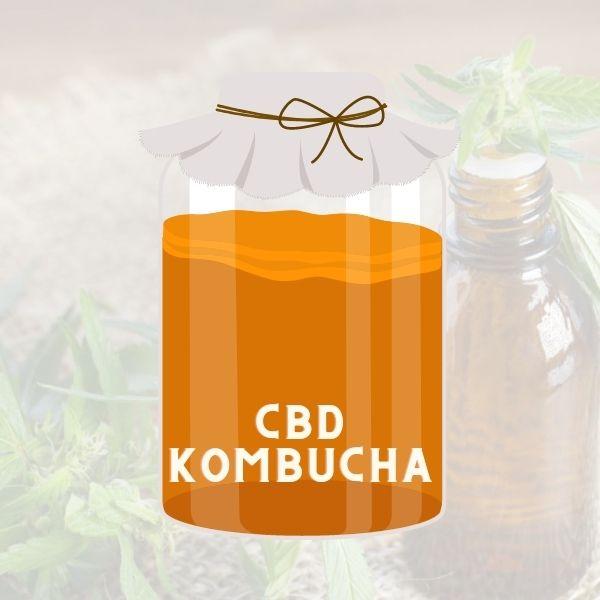 CBD Kombucha is a great drink at anytime