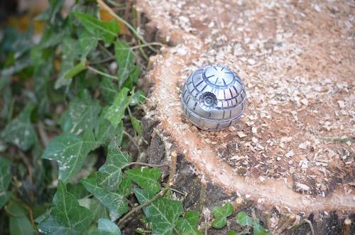 death-star-grinder-on-stump