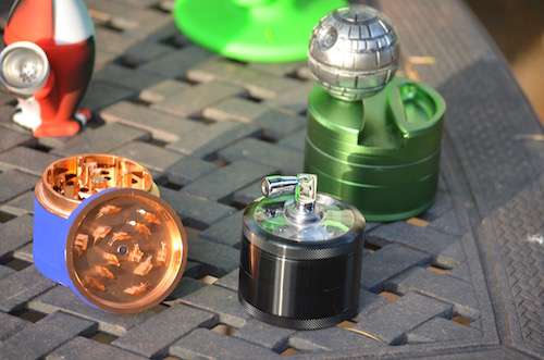 grinders-on-table