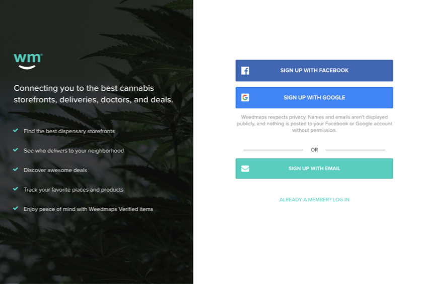 how-to-get-on-weedmaps