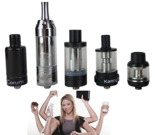 510 thread atomizers for herb, wax, oil