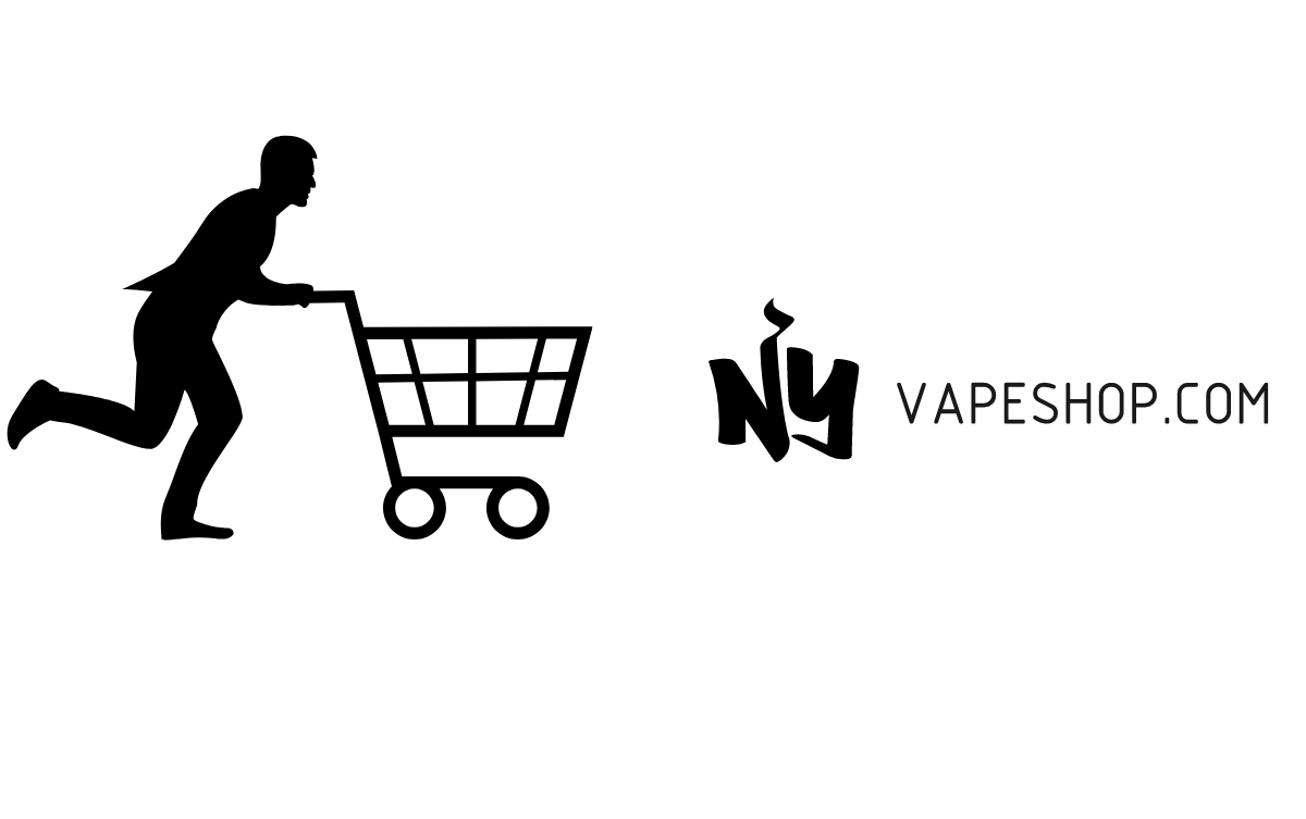 Shopping cart on its way to check out at NYVAPESHOP