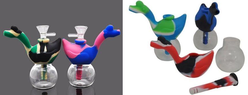 Swan Bubbler Pipe
