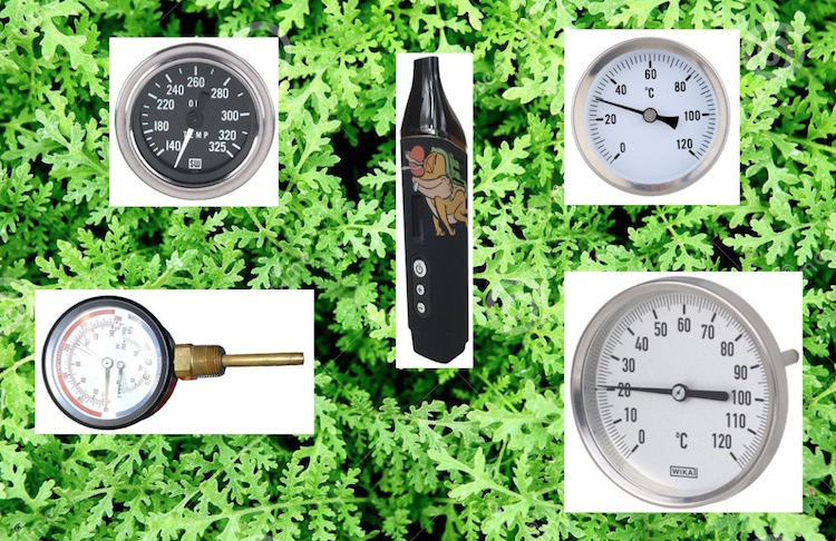dry herb vaporizer temperatures